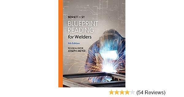Blueprint reading for welders spiral bound version ae bennett blueprint reading for welders spiral bound version ae bennett louis j siy 9781133605782 amazon books malvernweather Choice Image