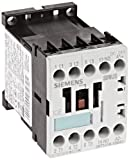 Siemens 3RT10 16-1BB41 Motor Contactor, 3 Poles, Screw Terminals, S00 Frame Size, 1 NO Auxiliary Contact, 24V DC Coil Voltage