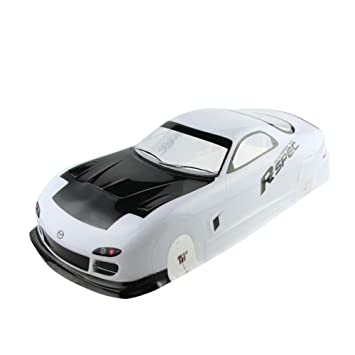 Amazon.com: Coolplay 1/10 PVC Car Body Shell RC Racing Car ...
