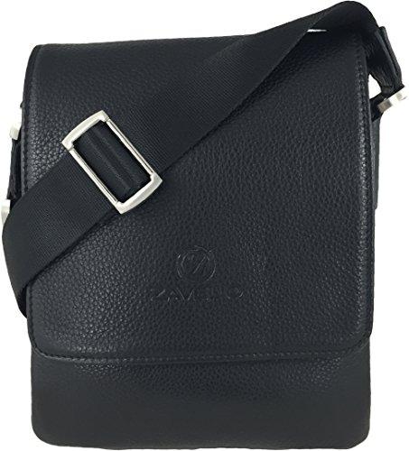 Zavelio Genuine Leather Shoulder Messenger