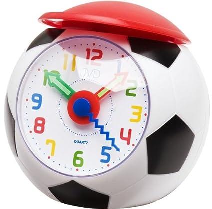 Analoger Kinder Wecker Fussball
