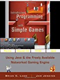 Introductory Programming with Simple Games 9780470212844