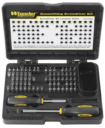 Wheeler Gunsmithing Screwdriver Kit