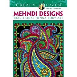 [(Creative Haven Mehndi Designs Coloring Book: Traditional Henna Body Art )] [Author: Marty Noble] [Mar-2013]