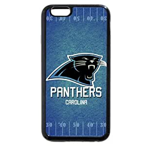 """Onelee Customized NFL Series Case for iPhone 6 4.7"""", NFL Team Carolina Panthers Logo iPhone 6 4.7"""