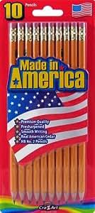 Amazon Com Cra Z Art Made In America Pre Sharpened No 2