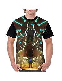Men's Undertale T-shirt Novelty Graphic Screw-Neck Tees
