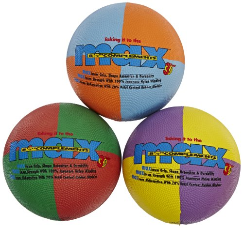 Complements Set - SportimeMax Primary Colors Complements Ball - Set of 3
