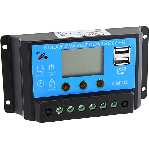 20A 12V Lithium Battery Solar Charge Controller by xUmp.com