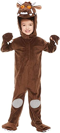 George Gruffalo Costume Outfit Childrens Boys Fancy Dress  World Book Day
