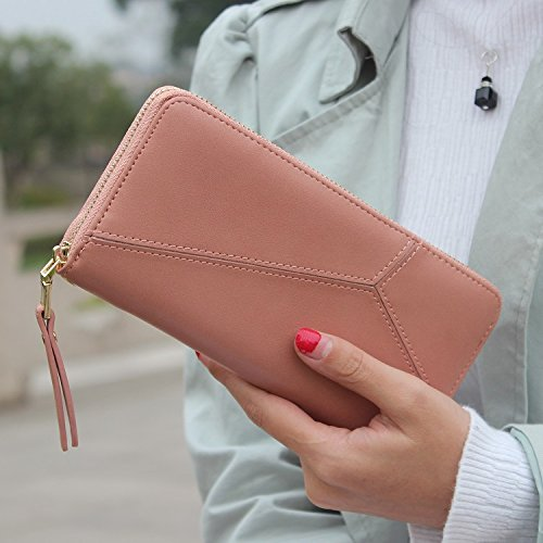 JD Million shop Geometric wristband women wallets female long zipper purse High capacity coin wallet purses brand Fashion phone - Armani Different Brands
