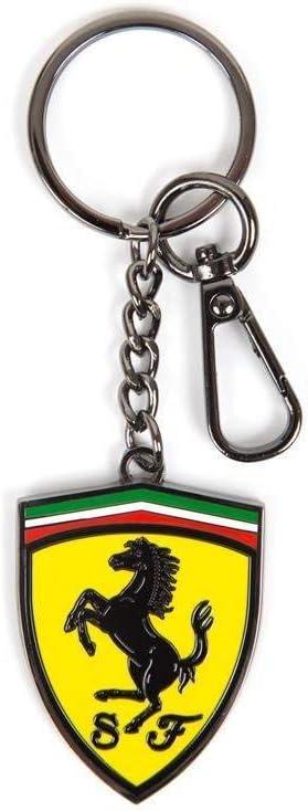 Ferrari Scuderia F1 Metal Shield Keychain