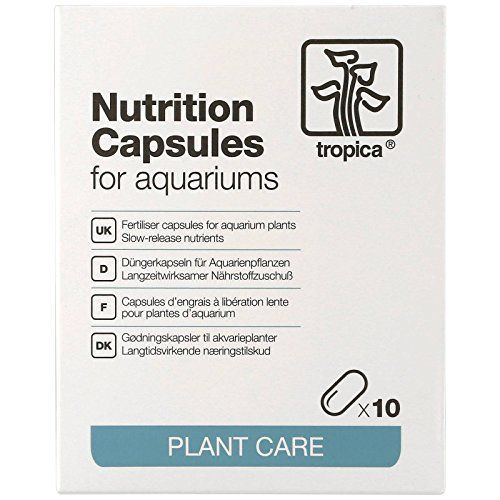 Tropica Plant Care Nutrition Capsules for Freshwater Planted (Tro Freshwater Fish)