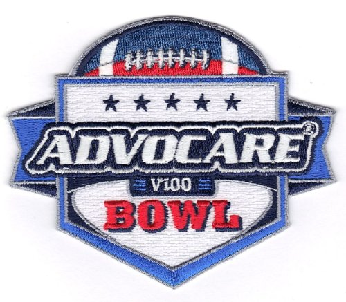Advocare V100 Bowl Game Jersey Patch (2013 Arizona Wildcats vs. Boston College -