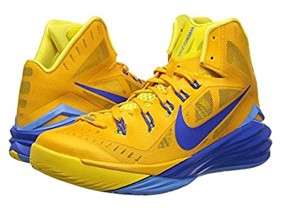 huge discount 8c9cd 397ee Image Unavailable. Image not available for. Color  Nike Hyperdunk 2014 -  University Gold ...