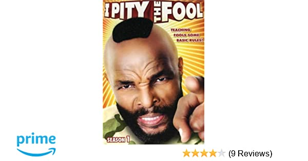Amazon com: I Pity the Fool - Season 1: Mr  T: Movies & TV