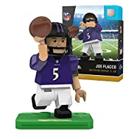 NFL Baltimore Ravens Gen4 Limited Edition Joe Flacco Mini Figure, Small, White