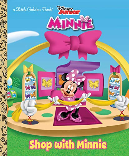 Shop with Minnie (Disney Junior: Mickey Mouse Clubhouse) (Little Golden - Little Clubhouse