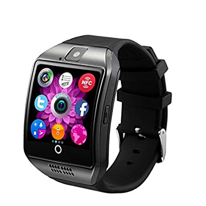 Amazon.com: NOKKOO Smart Band Smart Watch Camera Q18 ...