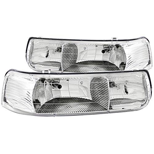 02 tahoe chrome headlights - 1