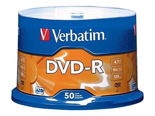 verbatim-47gb-up-to-16x-branded-recordable-disc-azo-dvd-r-50-disc-spindle-95101