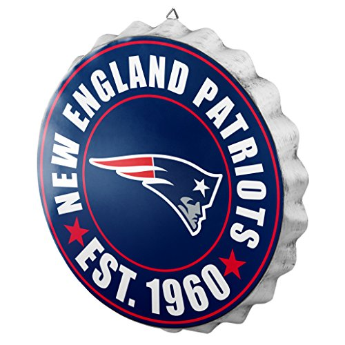 New England Patriots 2016 Bottle Cap Wall Sign -