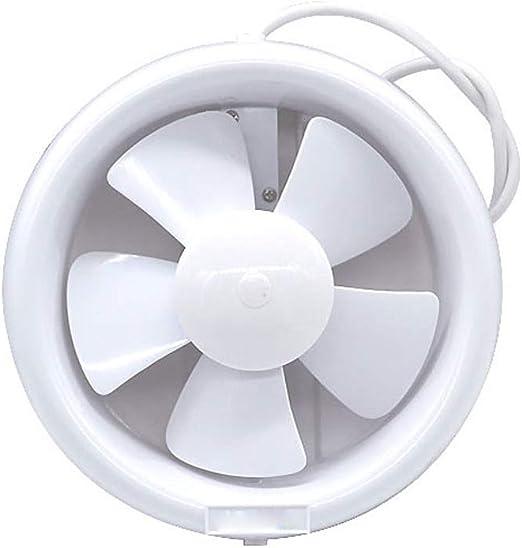 Ventilación Extractor Ventiladores de extractor de cocina Ventilador de escape de bajo ruido 6 pulgadas Tipo de ...