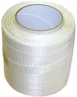 Boat Shrink Wrap 1//2 inch x 1500 Ft Strap-Cross Woven String Strapping DS-50015