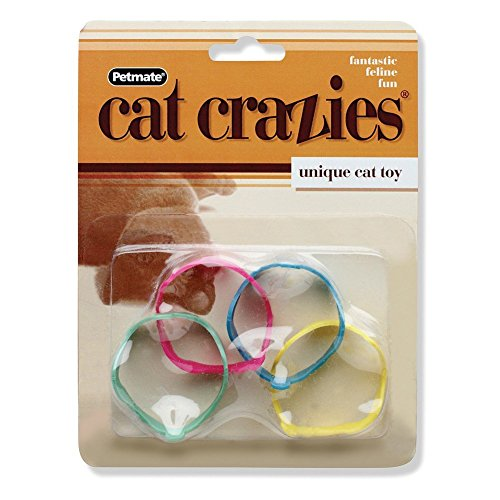 2 Pack, Slide, Flip, Roll & Bite Cat Crazies Cat -