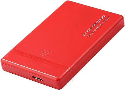Amazon.com: D DOLITY - Carcasa para disco duro externo de 2 ...