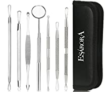 ♥ ESARORA Blackhead Removal Series New Arrival -----ESARORA Blackhead Removal Tools ♥ Product Included:ESARORA Blackhead Removal Tools Set♥ Product Highlights: With this ESARORA Blackhead Remover Kit that can help you easily cures acne treatm...