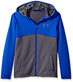 Under Armour Boys' Armour Fleece Full Zip Hoodie,Graphite (040)/Graphite, Youth X-Small