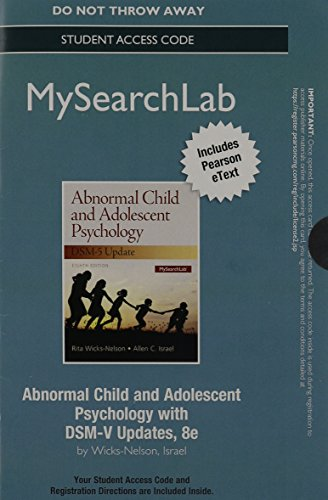 mysearchlab-with-pearson-etext-access-code-card-for-abnormal-child-and-adolescent-psychology-with-ds