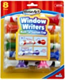 RoseArt Window Writers, 8 Markers per Pack, Assorted Colors (CYB56)