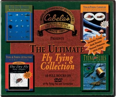 The Ultimate Fly Tying Collection Cabela's DVD 10 Hours
