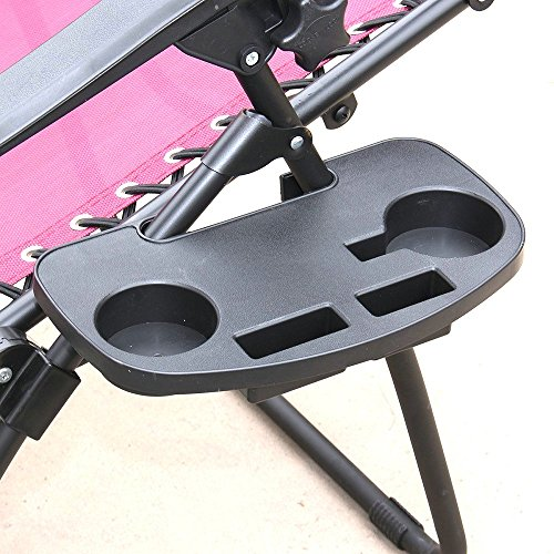 IRCtek Universal Oval Zero Gravity Chair Cup Holder with Mobile Device Slot and Snack Tray (2, medium) For Sale