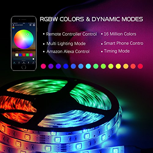 Litake-LED-Strip-Lights-Wifi-Wireless-Smart-Phone-APP-Controlled-Light-Strip-Kit-328ft-300-Leds-5050-Waterproof-IP65-LED-Lights-Working-with-Android-IOS-System-Alexa