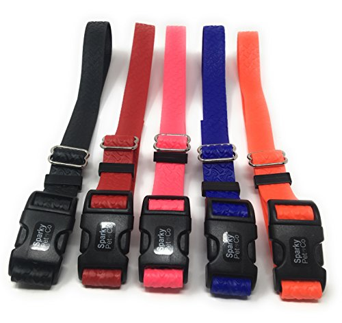 Embossed Strap - Sparky Pet Compatible 3/4