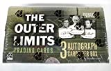 The Outer Limits Premiere Edition Trading Cards Box Set with 3 Autograph Cards