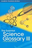 The Essential Science Glossary III, Red Brick Learning, 142962728X