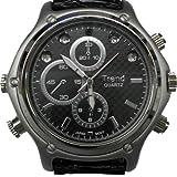 赤外線LED搭載薄型腕時計カメラ「TEM-513」 腕時計型カメラ 腕時計型ビデオカメラ
