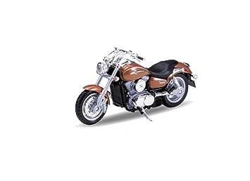 Kawasaki Vulcan 1500 Mean Streak 2002 Diecast Model Motorcycle Die Cast Vehicles
