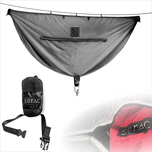Serac [#1 Hammock Mosquito Net] Camping Hammock Bug Net - Perfect for backpacking, camp and travel by