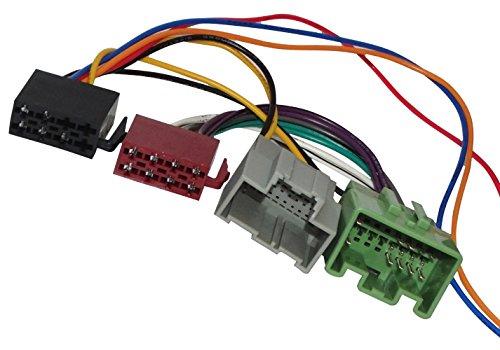 Aerzetix: Car Radio ISO plug cable adapter for Auto Car