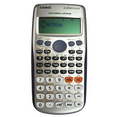 Casio Fx-570es Fx570es Plus 2-line Display Scientific Marix Vector Calculations Calculator with 417 Functions Limited Edition. - 4034888 , B0089QHZRI , 454_B0089QHZRI , 24.83 , Casio-Fx-570es-Fx570es-Plus-2-line-Display-Scientific-Marix-Vector-Calculations-Calculator-with-417-Functions-Limited-Edition.-454_B0089QHZRI , usexpress.vn , Casio Fx-570es Fx570es Plus 2-line Display