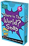 The Green Board Game Co. G0944035 Where in the World Snap Card Game