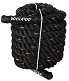 Cockatoo Professional Use (1.5' Thick / 50 Feet(15 Mtr ) Exercise Rope) Battle Rope; Battle Rope ; Rope
