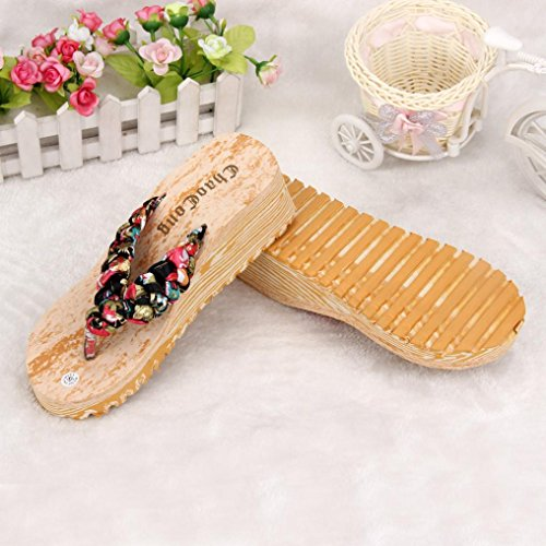 Flops Loafers Women TM Black Wedge Sandals Flip AMA Beach Bohemia Slippers Shoes 805wx4q6