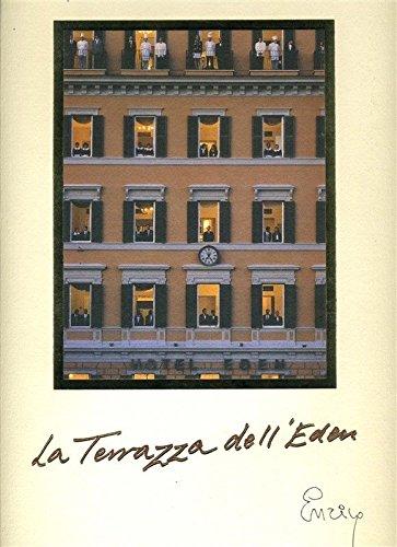 Amazon.com : La Terrazza dell\'Eden Hotel Eden Menu Roma Rome Italy ...