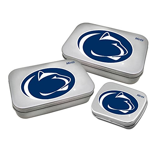 Worthy Promotional NCAA Penn State Nittany Lions Decorative Mint Tin 3-Pack with Sugar-Free Mini Peppermint Candies